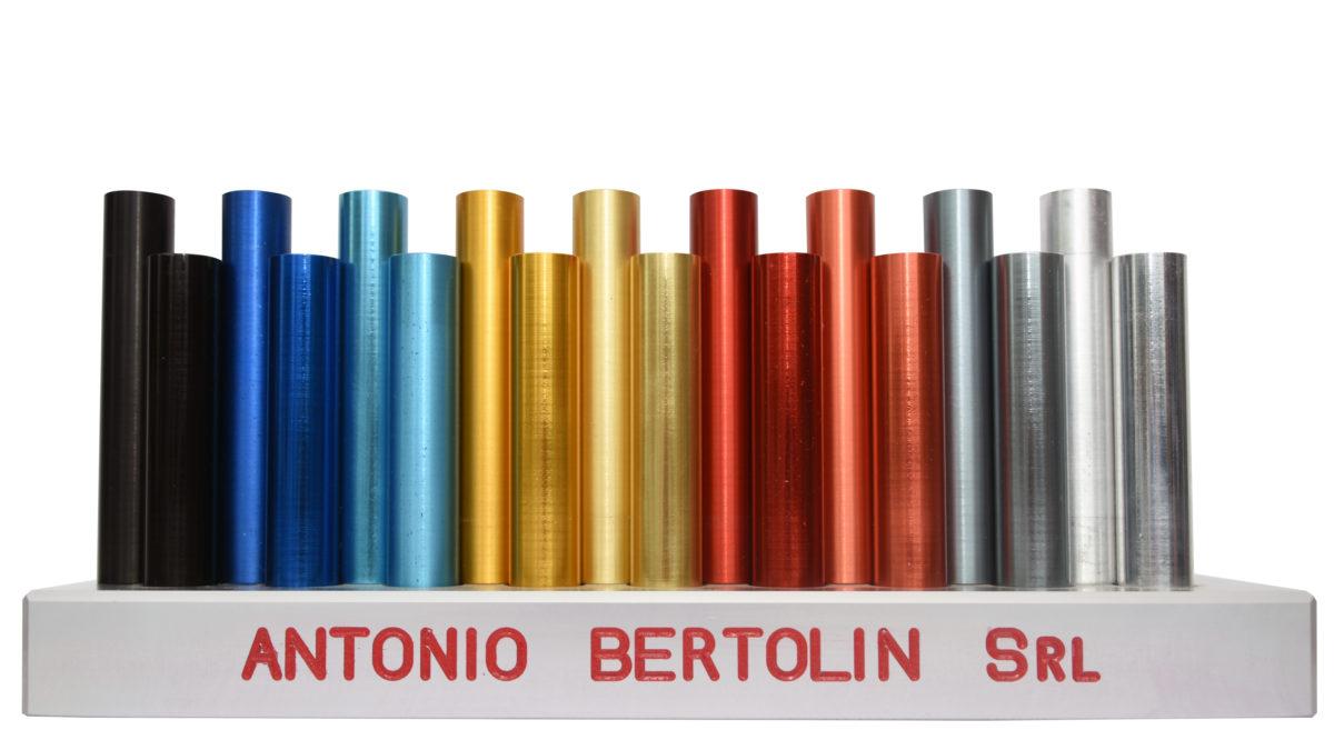 Ossidazione Anodica Alluminio Un Colore Per Ogni Esigenza Bertolin Antonio